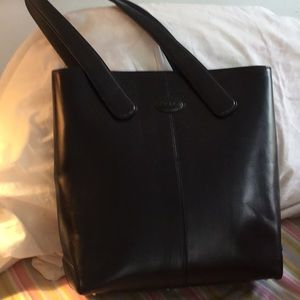 Tod's leather bag, lg